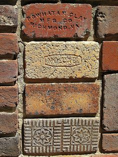 Bricks At Maccallum More Gardens in Chase City, Virginia ~ Photo by...David Hoffman©