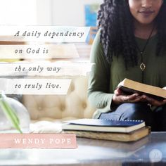 """Click to read today's """"Encouragement for Today"""" devotion."""
