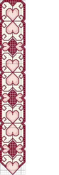 free valentine cross stitch patterns - Google Search