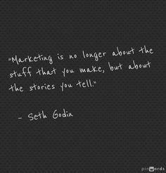 Marketing and Story telling / true relationship building / building on many medias True Relationship, Relationship Building, Social Media Monitoring Tools, Sales And Marketing, Content Marketing, Best Quotes, Funny Quotes, Manager Quotes, Seth Godin