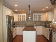 U Shaped Kitchen With Island Counter