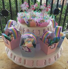 What fun we had creating a magical day for Arya. Here are some snippets from her birthday party. Unicorn Birthday Decorations, Unicorn Themed Birthday, 3rd Birthday Cakes, Diy Birthday, Unicorn Party, Unicorn Foods, Little Pony Party, Festa Party, Party Fun