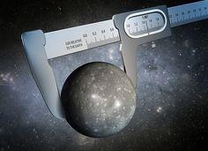 Utilizando datos de los telescopios espaciales Kepler y Spitzer,un equipo de científicos ha obtenido la medida más precisa hasta ahora del tamaño de un mundo fuera de nuestro Sistema Solar, tal como se muestra en esta ilustración artística.