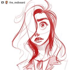 #wooolikes @the_redbeard  Quick warm up sketch. #sketch #sketchy #sketchbook #sketching #linedrawing #facedrawing #expression #warmup #doodle #boceto #ilustración #ilustracion #illustration #illustrationart #illustrationartists #artistsoninstagram #girl #instalike #repostapp #repost #regram #likes #wooomic
