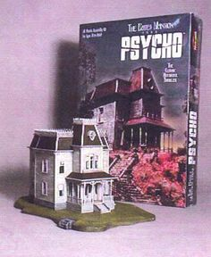 I feel like I NEED a Bates Mansion model kit. Who doesn't need one?