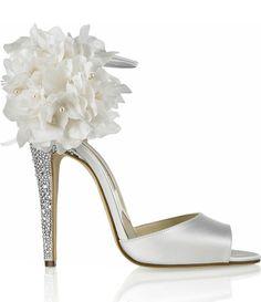 Zapatos espectaculares para la novia   Fuxia Atelier