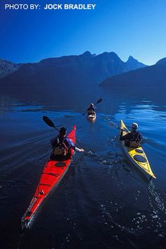 Adventures in a kayak are more than reaching a destination.