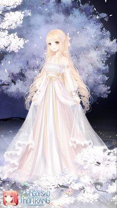 Pretty Anime Girl, Kawaii Anime Girl, Anime Art Girl, Anime Love, Anime Kimono, Anime Dress, Nikki Love, Dream Fantasy, Anime Princess