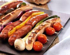 Wurstschaschlik Hot Dogs, Ethnic Recipes, Food, Recipes, Eten, Meals, Diet