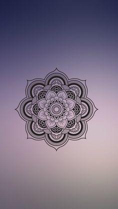 Imagem de mandala, wallpaper, and blur wallpapers telefon ar Mandala Art, Mandala Design, Mandala Nature, Image Mandala, Mandalas Painting, Mandala Drawing, Mandala Tattoo, Easy Mandala, Phone Screen Wallpaper