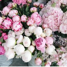 Nothing says good morning like a bunch of peonies