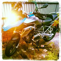 My adventure bike