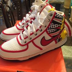 Nike vandal high Youth size 6.5 (women's size 8) Nike Shoes Sneakers