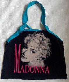 Madonna Tote/Fan Art by larissamyrie.art on Etsy