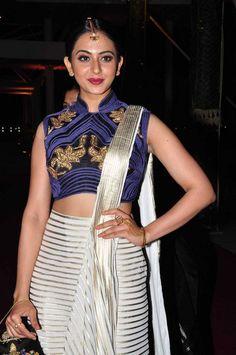 Actress Rakul Preet At Pearl V Potluri Half Saree Function