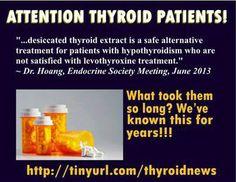 Thyroid meds