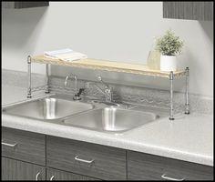 Kitchen Wrought Iron Over The Sink Shelf Photo