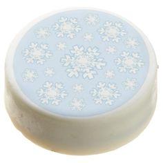 Winter Snowflake in Blue