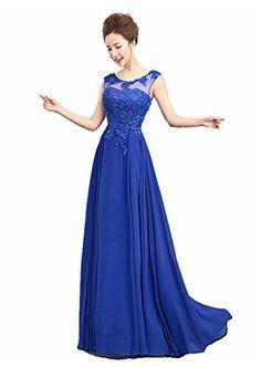 Kmformals Women's Scoop Neck Appliques Evening Dress Size 2 RoyalBlue Kmformals http://www.amazon.com/dp/B00UKWXHHQ/ref=cm_sw_r_pi_dp_WRsfvb0VPYFYG