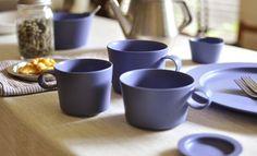 store.spiral.co.jp yumiko iihoshi porcelain(イイホシユミコ)の定番シリーズ「unjour(アンジュール)」に新色が出たそうです。 紫に近いブルーですね。 鳥のお皿「tori plate」には「ruri」がラインナップされていましたが、「unjour」シリーズにも展開されたみたいです。 unjour matin bowl S unjour matin bowl M unjour matin bowl L unjour matin カップ unjour apres-midi カップ unjour nuit カップ unjour matin プレート unjour nuit プレート などシリーズの多くのアイテムでruriが出ています。 スパイラルオンラインストアなどで取り扱い中。