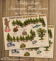 Camping Scavenger Hunt Free Download Freedownload