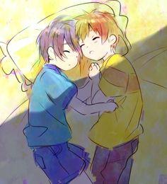 Free! Iwatobi Swim Club - Little Makoto and Haru