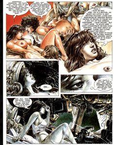 Druuna Aphrodisia by Paolo Eleuteri Serpieri Comics In English, Serpieri, Science Fiction Series, Fantasy Comics, Exotic Women, Fantasy Girl, Female Images, Erotic Art, Marvel Comics