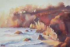 Aquarelles marines - Aquarelle Marichalar Watercolor