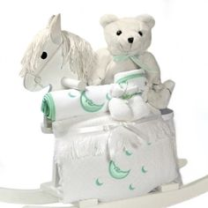 Rockabye baby personalized rocking horse with plush toy and best mother to be gifts for mothers day negle Image collections
