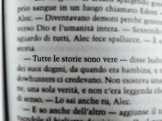 Tutte le storie sono vere. Frase libro pagina