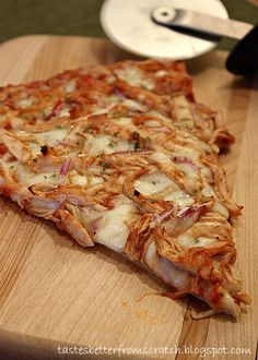 Tastes Better From Scratch: Barbeque Chicken Pizza