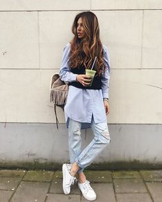 Pin for Later: 32 Styling-Tipps für eure Boyfriend-Jeans