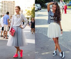 Manual de uso: falda de tul