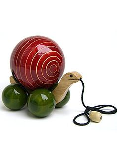 Earthentree - Tommy Turtle, handcrafted in wood and colored with natural veggie dyes. He is so cute!