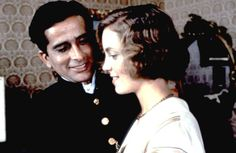 Shashi Kapoor with Greta Scacchi in Heat and Dust where he played a rogue Indian prince.