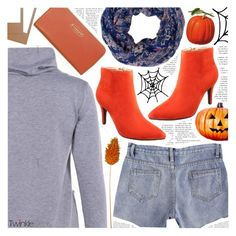 """""""Spice up your wardrobe: Orange details"""" by pastelneon ❤ liked on Polyvore"""