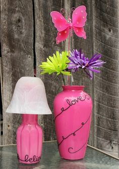 Pretty Flower Vases · Home and Garden | CraftGossip.com