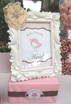 Birds Baby Shower Party Ideas | Photo 1 of 21 | Catch My Party