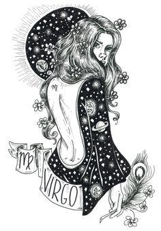 Lunar Eclipse Full Moon in Libra by Aquarius Nation — Bohemian Collective – virgo constellation tattoo Full Moon In Sagittarius, Virgo Art, Virgo Love, Zodiac Art, Virgo Zodiac, Zodiac Signs, Virgo Sign, Horoscope Signs, Aquarius Constellation Tattoo