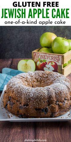 Gluten Free Apple Cake, Best Gluten Free Desserts, Apple Cake Recipes, Gluten Free Cakes, Foods With Gluten, Gluten Free Cooking, Gluten Free Jewish Recipes, Apple Recipes Gluten Free, Free Recipes