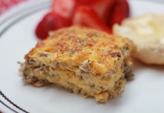Sausage Casserole. This classic Southern breakfast casserole is simple to make and always comes out perfect. From EricasRecipes.com.