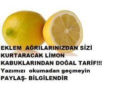 Eklem ağrılarını gideren limon kabuğundan doğal tarif