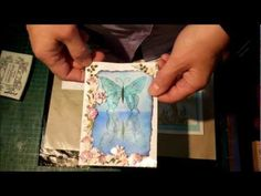 Reflection or Mirror Stamping - YouTube