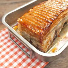 Pečený bůček s vykřupanou kůžičkou Bucky, Lasagna, Banana Bread, French Toast, Pork, Cookies, Dinner, Breakfast, Ethnic Recipes