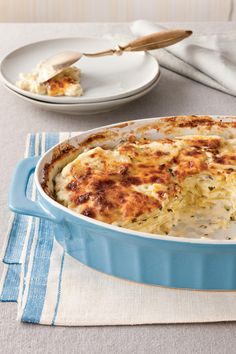 Classic Parmesan Scalloped Potatoes - 35 Delicious Potato Recipes ...