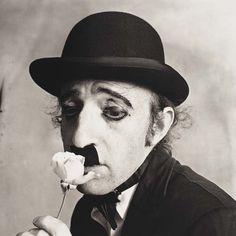 Irving Penn - Woody Allen as Chaplin    New York - 1972