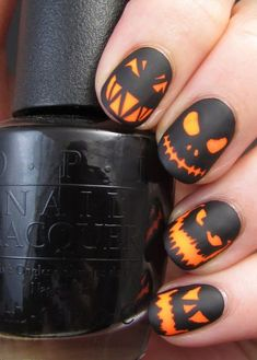 Are you looking for fall nail designs 2018 that are excellent for fall? See our collection full of fall nail designs acrylic nails. Nail Lacquer, Nail Polish, Halloween Nail Designs, Halloween Nail Art, Halloween Ideas, Spooky Halloween, Spooky Spooky, Halloween Fashion, Halloween Halloween