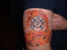 Flame Tattoo