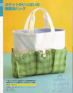 molde.: bolso japones