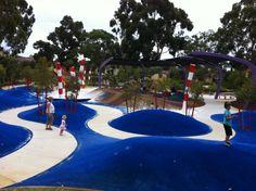 Playground in Australia Kadidjiny park